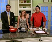 Daytime Show – Chef Cristian making Baked Ice Cream Cappuccinos!
